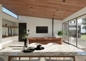 casa nihuil sustentable